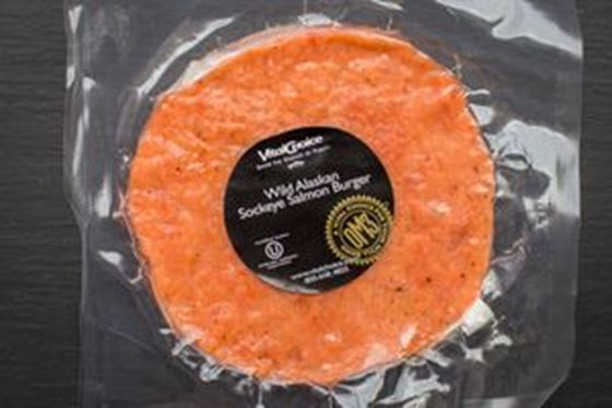 Picture of Sockeye Salmon Burger - 1 (4 oz.) patty