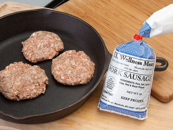 Picture of Sugar Free Pork Breakfast Sausage - 1 lb.