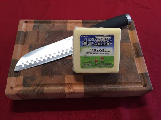 Picture of Raw Grass-Fed Colby Cheese - 10.5 oz.