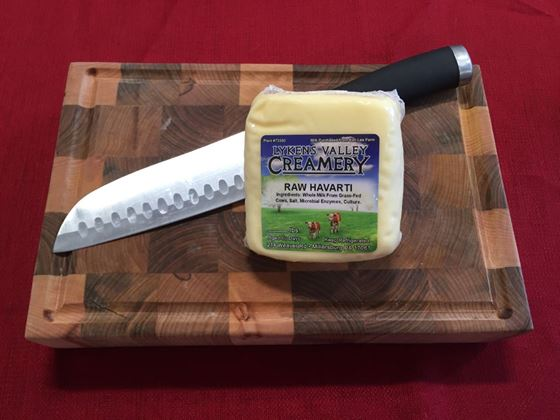 Picture of Raw Grass-Fed Havarti Cheese - 10.5 oz.