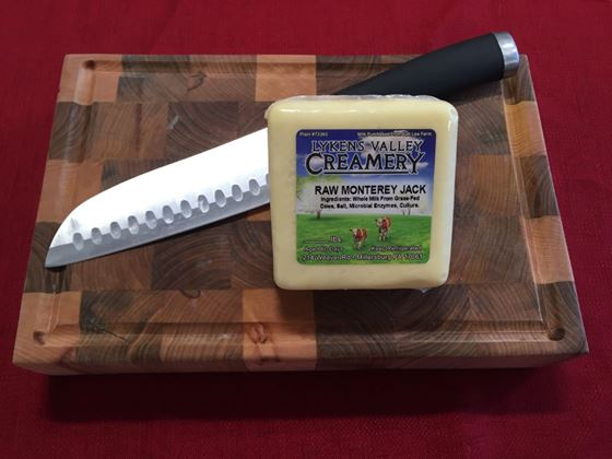 Picture of Raw Grass-Fed Monterey Jack Cheese - 10.5 oz.