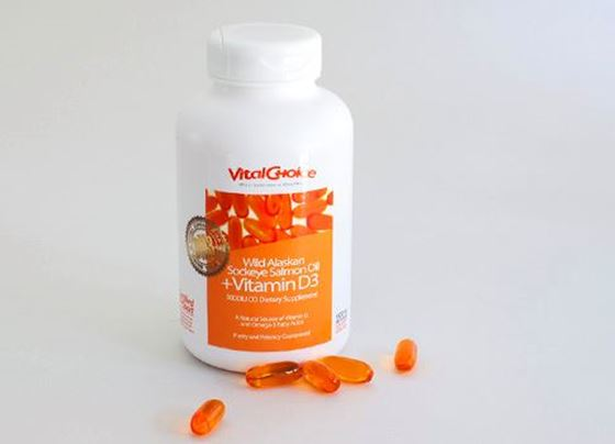Picture of Vitamin D3 in Wild Salmon Oil