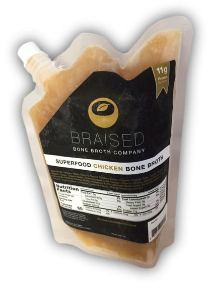 Picture of SEE SKU 82058-Superfood Chicken Bone Broth - 20 oz