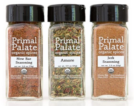 Picture of Primal Palate Food Lovers Seasoning ~ Organic Spice Pack