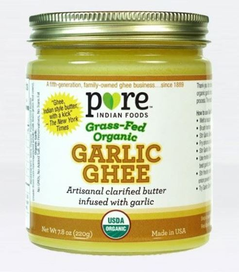 Picture of Pure Indian Foods Garlic Ghee