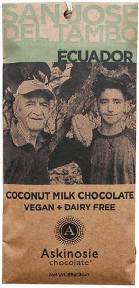 Picture of Dairy-Free Coconut Milk Chocolate Bar