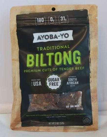 Picture of Ayoba-yo Traditional Beef Biltong - 2 oz.