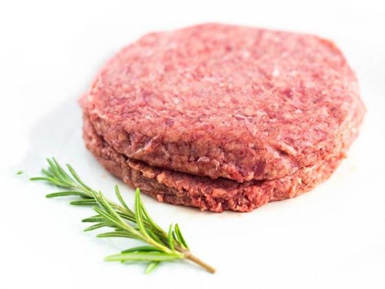 Picture of 75% Lean Beef Patties - 2 (6 oz) patties