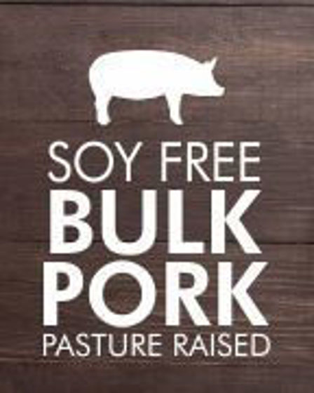Picture of Soy Free Pork Ham Steaks, Sausage Bundle (Ships Separately)- 20 lbs